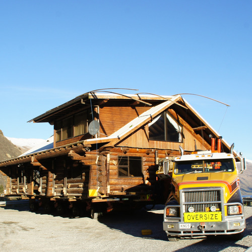 Log House Removal